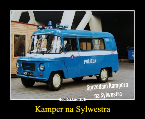 Kamper na Sylwestra