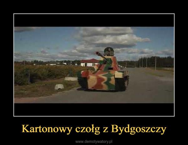 Kartonowy czołg z Bydgoszczy –