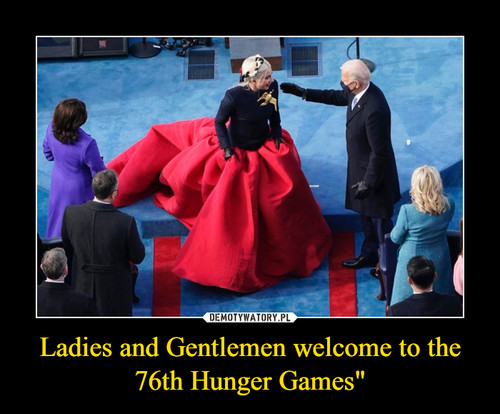 """Ladies and Gentlemen welcome to the 76th Hunger Games"""""""