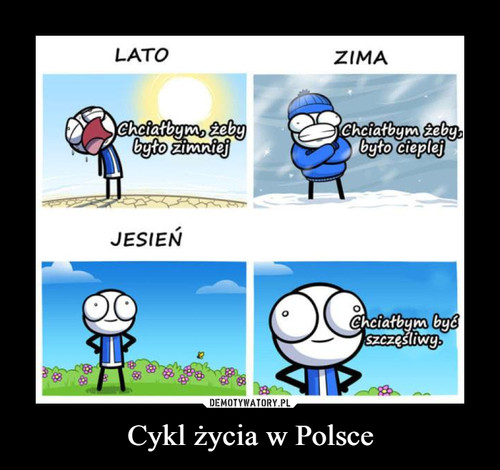 Cykl życia w Polsce