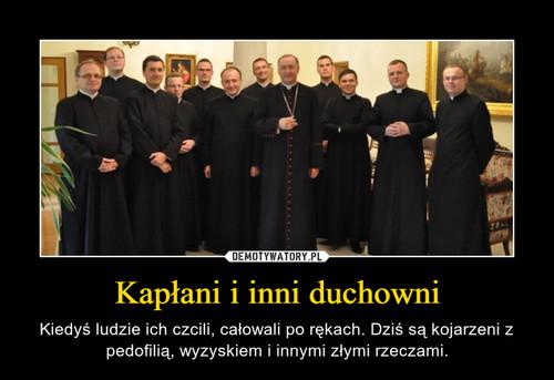 Kapłani i inni duchowni