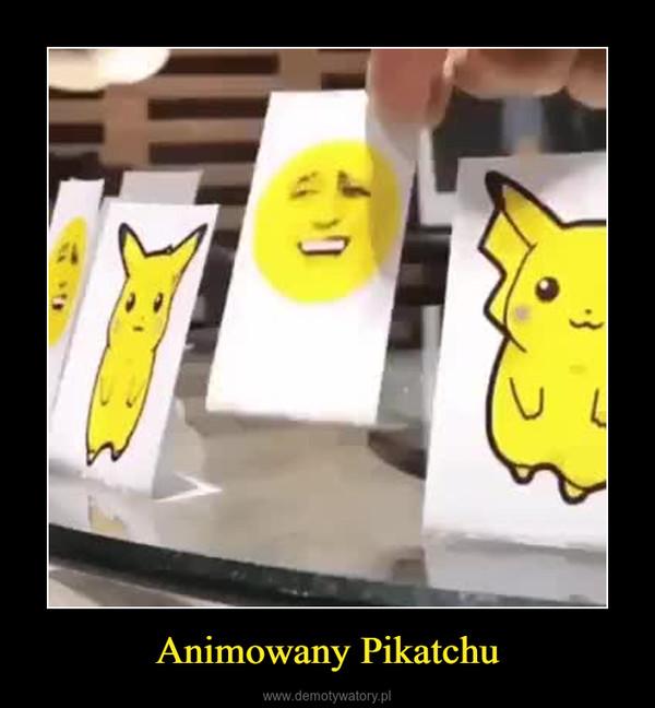 Animowany Pikatchu –