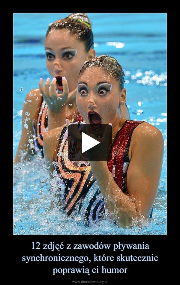 12 zdjęć z zawodów pływania synchronicznego, które skutecznie poprawią ci humor –