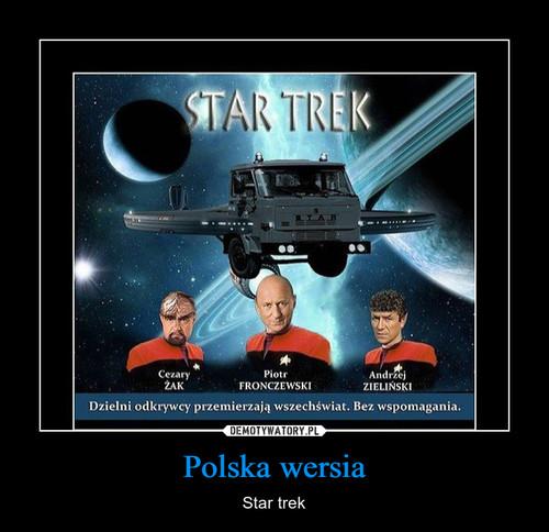 Polska wersia