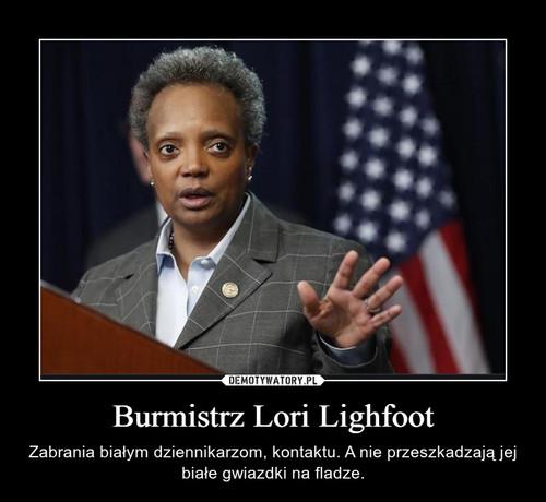 Burmistrz Lori Lighfoot