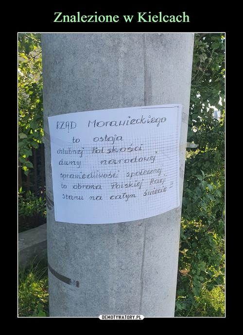 Znalezione w Kielcach