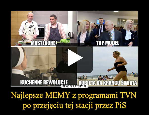 Najlepsze MEMY z programami TVN po przejęciu tej stacji przez PiS –