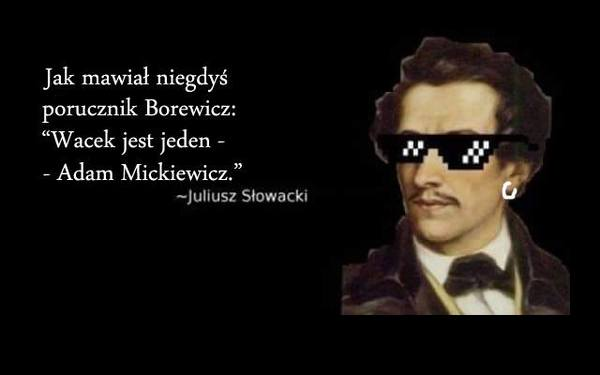 Wielki Internetowy Konflikt Mickiewicz Vs Słowacki Staje